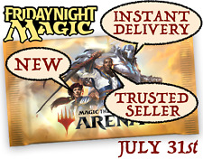 MAGIC MTGA MTG Arena Code FNM Home Promo Pack JUL 31 / JULY 31 - INSTANT EMAIL