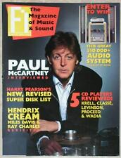 FI MAGAZINE ~ DECEMBER 1987 ~ CD PLAYER REVIEWS ~ R&R ARTISTS INTERVIEWS