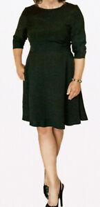 BLACK DRESS GOOD QUALITY SIZE 18 NEW