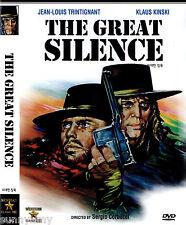 Sergio Corbucci - The Great Silence - Klaus Kinski (NEW) Spaghetti Western  DVD