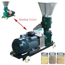 220V Automatic Multifunctional Feed Pellet Mill Machine 2Mm Pellet Make Low Nois