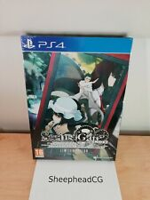 Steins Gate Elite Limited Edition - PS4 New And Sealed - Artbook & Cloth Poster!