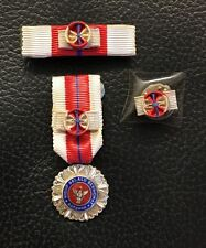 MALAYSIA SARAWAK Distinguished Service Medal Star PPT Miniature Silver Malaya