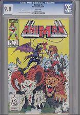 Animax #1  CGC 9.8 1986 Star Comic