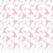 Tinkerbell Silhouette Cotton Fabric - Curtain/Craft Fabric metre/fat quarter