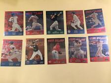 2000 Stadium Club CHROME True Colors complete 10 card set