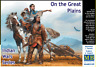 MASTER BOX 35189 1/35 SCALE MODEL KIT INDIAN WARS SERIES - ON GREAT PLAINS DE