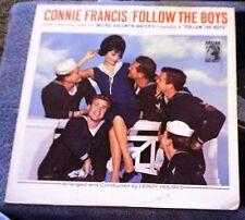 Connie Francis FOLLOW THE BOYS LP Album - Vinyl, MGM Records E/SE - 4123