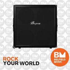 Bugera 412F-BK Classic 200W 4x12 Guitar Speaker Cabinet Straight Quad Box