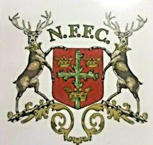 Vintage Nottingham Forest vintage sticker / logo /badge