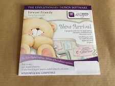 Docrafts Forever Friends New Arrival Digital Designer CD RRP £9.95 Bargain