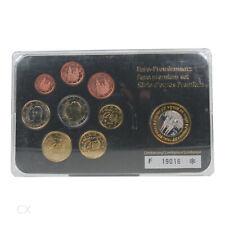 *** EURO KMS SPANIEN Euro-Premiumsatz Kursmünzensatz im schwarzen Folder Spain *