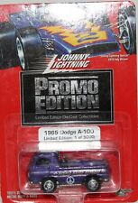 Johnny Lightning Dodge A100 Purple hazed express Real rider tyres.