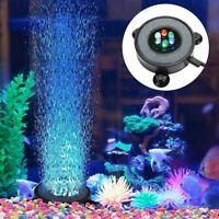 Led Aquarium Luft Blase Licht Aquarium Luft Schleier Blase Stein Scheibe mi M1B7