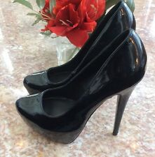 ALDO Classic Patent Leather Platform High heel Pump Size 7 / 37.5 EUC!   Ret.$99