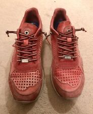 Cetti Mens Trainers Red Leather Size 43 UK 9