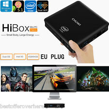 CHUWI HiBox Mini PC Android 5.1+Windows 10 Quad Core Dual WiFi 4GB+64GB EU PLUG