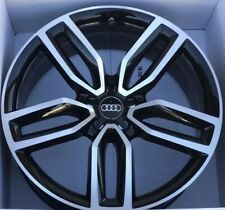 """21 Audi SQ5 Q5 21"""" Wheel Rim Factory OEM Original Stock 58934 8R0601025AM Black"""