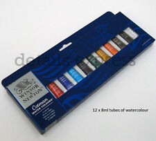 Winsor and Newton Cotman Watercolour paints 12 Tube Set - for artists & students