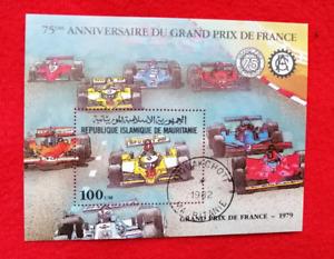 Grand Prix Autorennen Frankreich, MAURETANIEN 1982 Block 34