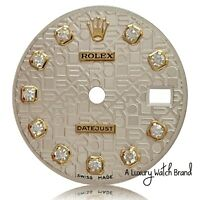 Rolex Silver Jubilee Diamond Dial for Ladies Datejust Two-Tone 26mm Watch