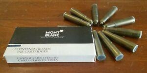 Mont Blanc 16111 Blue-black Fountain Pen Refills (10-pack)