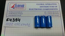 PHILIPS 470uF40V 12x25mm radial Electrolytic Capacitor 2222-03567471 LOT5pcs