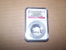 2011 P Australia Silver Kangaroo High Relief Early Releases PF 70 Ultra Cameo
