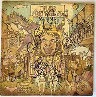 Dave Matthews band signed album dmb groo grux lp 6 sigs beckett loa