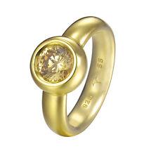 JOOP! JPRG90736B550 JP-Lana Damenring 925 Silber vergoldet mit ein Stein neu