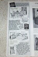 1963 vintage ad - Tell City Chair Company Indiana furniture PRINT Advertising