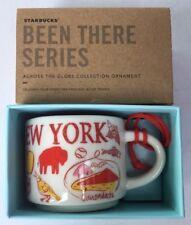 Starbucks Been There New York Ornament Mini Mug Baseball Statue of Liberty