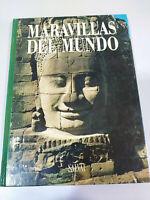 Maravillas del Mundo Angkor Vat Azay le Rideau Libro Tapa Dura Español