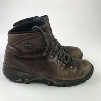 Merrell Mens Hiking Trail Boots Summit Brown Lace Up 9 EUR 43