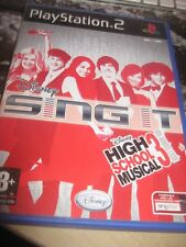 JEU PLAYSTATION 2 - SING IT DISNEY HIGH SCHOOL MUSICAL 3-  FAIRE OFFRE DE PRIX