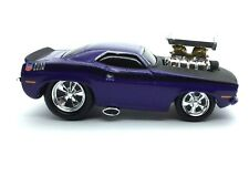 Muscle Machines 1970 70 Plymouth AAR Cuda Car Purple Die Cast 1/64 Scale Loose