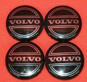 Volvo S50 S60 S70 S80 S90 XC70 8646379 Wheel Center Caps Hubcaps Set of 4 OEM