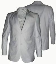 Trajes de hombre en color principal blanco de poliéster