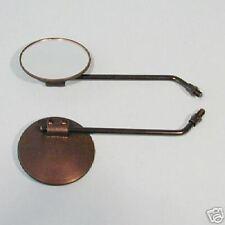 2 Spiegel rechts + links Honda CY 50 CY50 Schwarz NEU Mirror