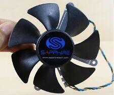 85mm  AD0912UB-U7BGL Fan for ATI Sapphire HD 5870 Video Card  62mm 4Pin