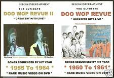 ULTIMATE DOO WOP REVUE ON 2-DVDs ROCK N ROLL VOL 1&2