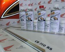 Honda CB 750 Four K6 Lacksatz Lack Set Flake Sunrise Orange + Tankzierstreifen