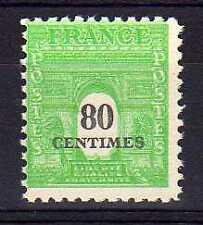 France Yvert n° 706 neuf sans charnière - variété
