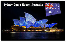 SYDNEY OPREA HOUSE, AUSTRALIA - SOUVENIR NOVELTY FRIDGE MAGNET - NEW - GIFT