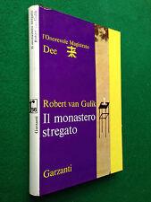 Robert VAN GULIK - IL MONASTERO STREGATO , 1° Ed Garzanti R'66 (1966)
