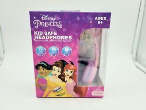 Disney Princess Kids Safe Volume Limiting Technology Headphones 6+ new 2021
