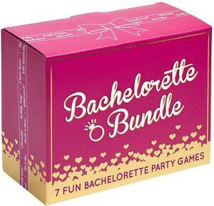 Bachelorette Bundle - 7 Fun Bachelorette Party Games - Brand new
