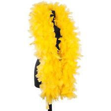 Bright Yellow 150 Gram Turkey Feather Boas - Turkey Ruff - Halloween Costumes