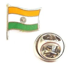 India Flag Enamel Lapel Pin Badge T617