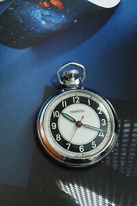 1975 Ingersoll Pocket Watch Bullseye Sweeper